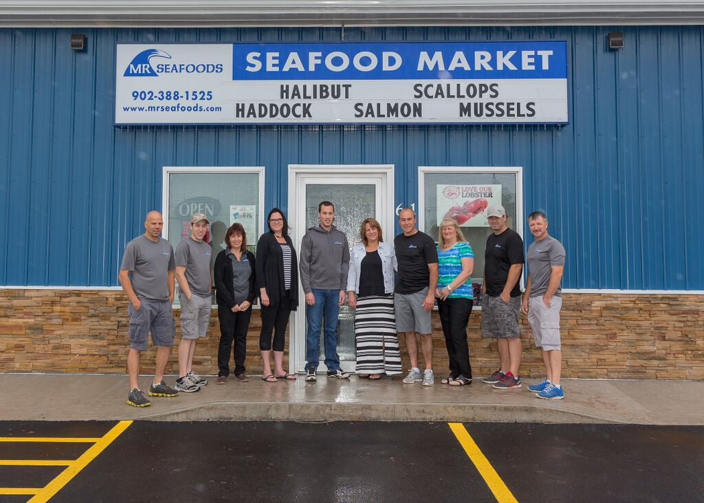MR Seafoods New Shop and Team